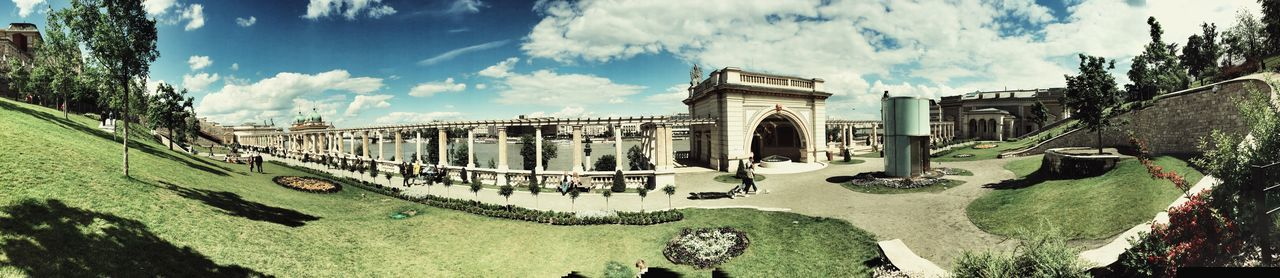 IPhoneography Iphone 6 Panorama Iphone Panorama Budapest, Hungary Várkert Bazár Blue Sky Clouds And Sky Summer Snapseed Editing  Landscape_photography Landscape_Collection
