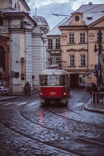 Evening Tram