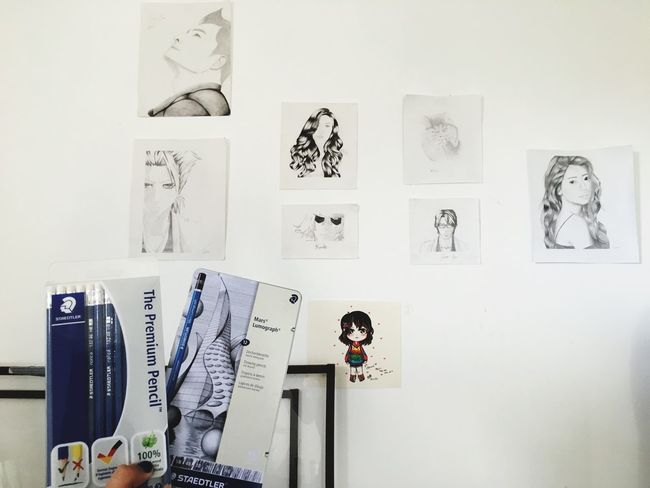 Arts and emotion ArtWork Art, Drawing, Creativity Artist Art is Everywhere EyeEm Selects Wall - Building Feature Creativity Art And Craft No People Choice Hanging Drawing - Art Product Paper Day White Color Variation