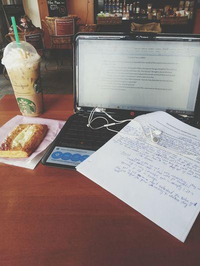 Sunday morning!! study time Coffee Hello World
