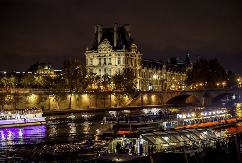 Seine Nightphotography Street Streetphotography Streetphoto_color Learn & Shoot: After Dark