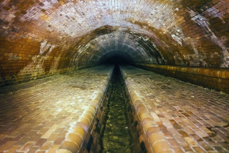 Architecture Built Structure Day Drainage Drainage Channel No People Outdoors Runoff Tunnel Wastewater Water