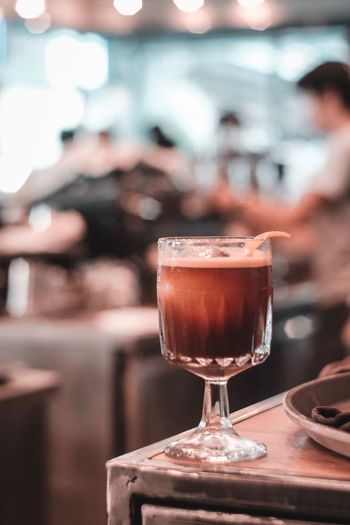 Coffee Coffeetime Coffee Break Coffee Coffee - Drink Drink Food And Drink Glass Refreshment Alcohol Drinking Glass Household Equipment Focus On Foreground Close-up Table Freshness Indoors  Bar - Drink Establishment Cold Temperature