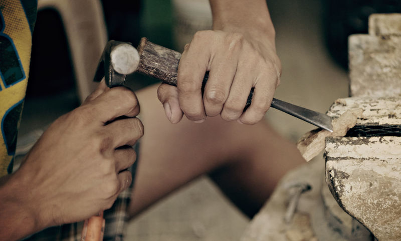 Working Hands, Wood Carving...   Fujifilm-XT10 + Helios 58mm 44-2 People Passion Filmsimulation Strollin' Lifestyles FUJIFILM X-T10 Fujifilm Vintage Lens Fujifilm_xseries Passionforphotography Travel Vintage Lens Hobbyist Fujifilmph People And Places Close Up Street Photography Street Sculpture Sculptor Workingpeople Working Hands EyeEmNewHere Mirrorlessrevolutionfujifilm Mirrorless Mirrorlessrevolution
