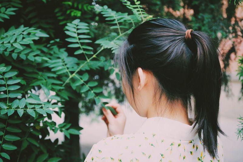 少女的马尾 Young Youth 青春 Film 胶片