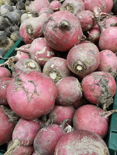 Beetroot at market Beetroots Food And Drink Wellbeing Food Healthy Eating Large Group Of Objects Freshness Market Abundance For Sale Full Frame Market Stall Still Life Retail  No People Backgrounds Sale Ripe Red