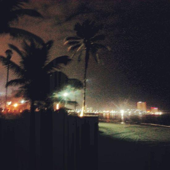 Boca Del Rio Veracruz Mar Arena Noche Tropical