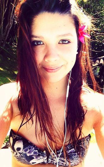 Enjoying The Sun Girl Brasil Holiday