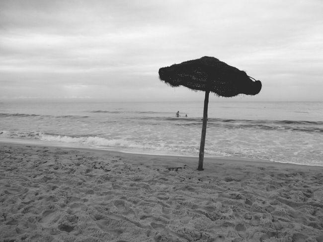 Beach Black & White