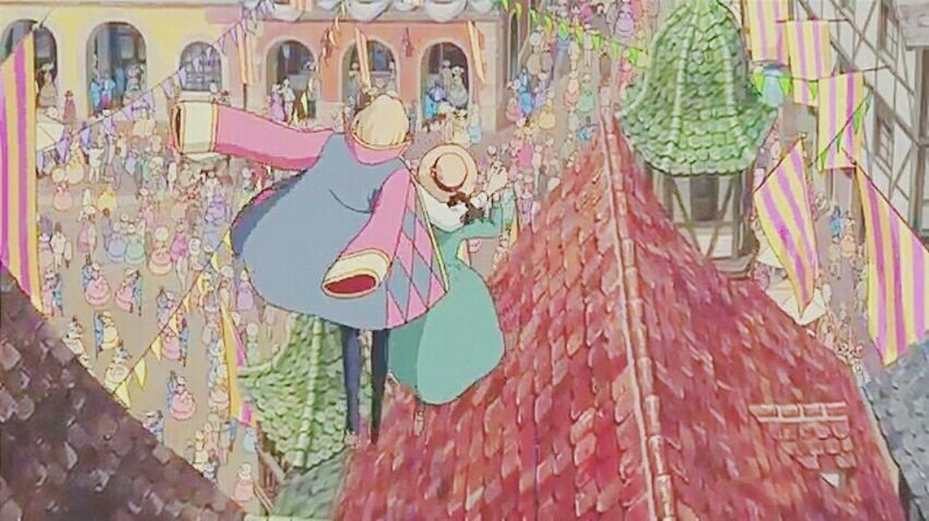Howl's Moving Castle Loveit♥ Anime Impression Pastel Colors