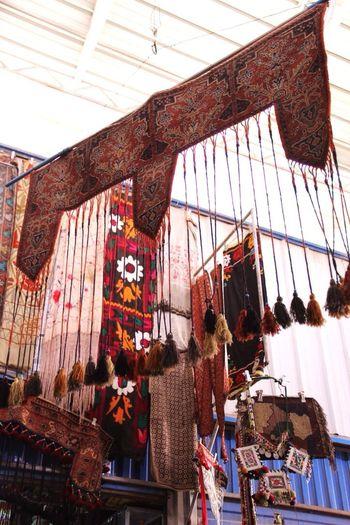 Kirghiz decorations at Kashgar new bazar Kashgar