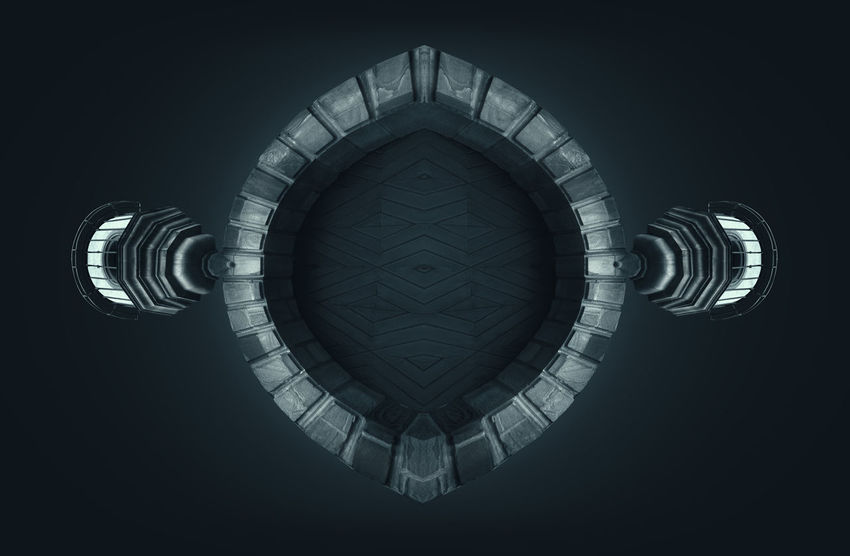 Stargate Gate Mystic Stargate Teleportation Travel Travelling Architecture Beaming Black Background Built Structure Circle Close-up Day Exploration Fantasy Indoors  Journey No People Space Space And Astronomy Space Exploration Star Symmetry Teleport Transfer
