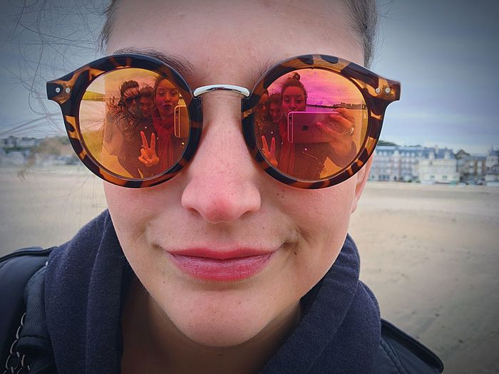 Sunglasses Portrait Looking At Camera Outdoors Real People One Person Front View Day Young Adult Close-up Human Face Lifestyles Eyeglasses  Smiling Eyesight People Friendship Beach Glasses Eyeglasses  Happiness Second Acts Be. Ready.