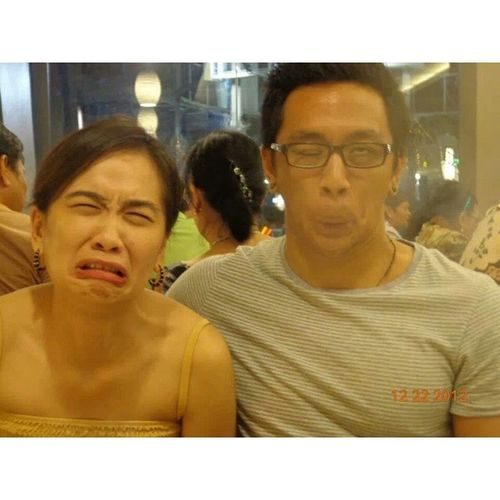 @enzo_inaussie I know for sure in another life we are really biological brothers and sisters. What an amazing wacky face we can produce haha. Throwback BestieLove