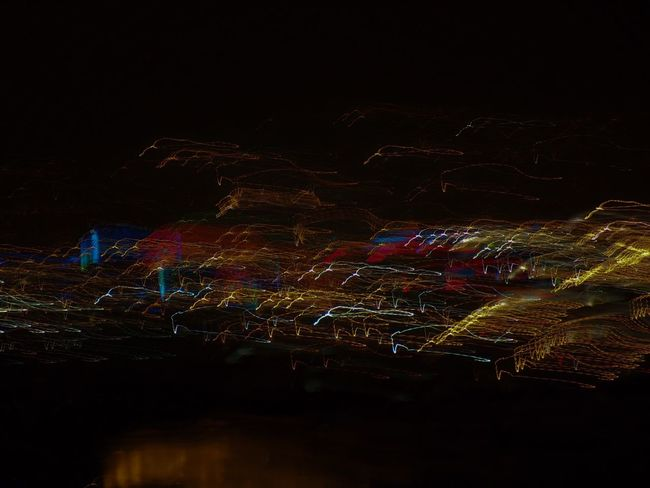 City City Lights At Night Fromhotelroom HotelGrandeBretagne Light Light Movement Night Night Lights Nightphotography No People Photoshop Edit
