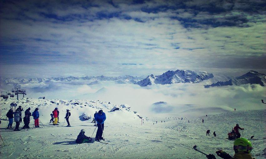 ...über den Wolken Ski Holiday Ischgl Austria Taking Photos Mountains And Sky Winter Holidays EyeEm Nature Lover My Favorite Photo
