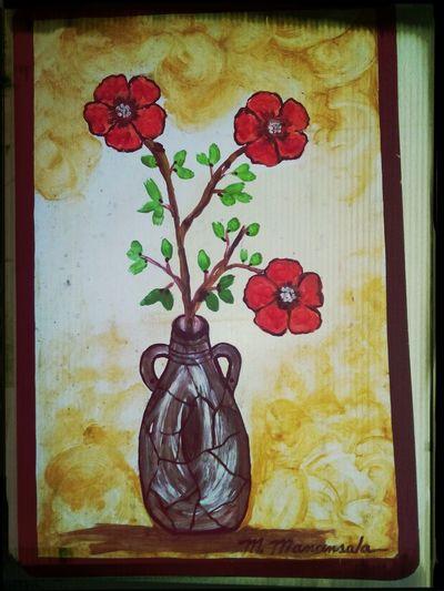Lonely flower portrait.. Taking Photos, Flowers, Colour