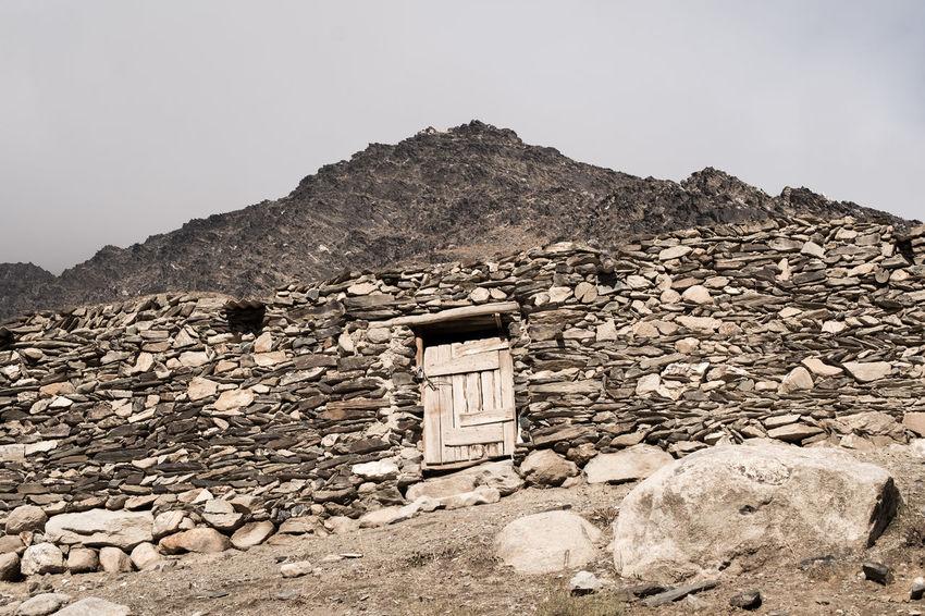 Ancient Arid Climate Building Exterior Built Structure Day Desert House Mountain Mountains Nature Old Ruin Ouzbékistan Rock - Object Silk Road Stone Material Travel Uzbekistan