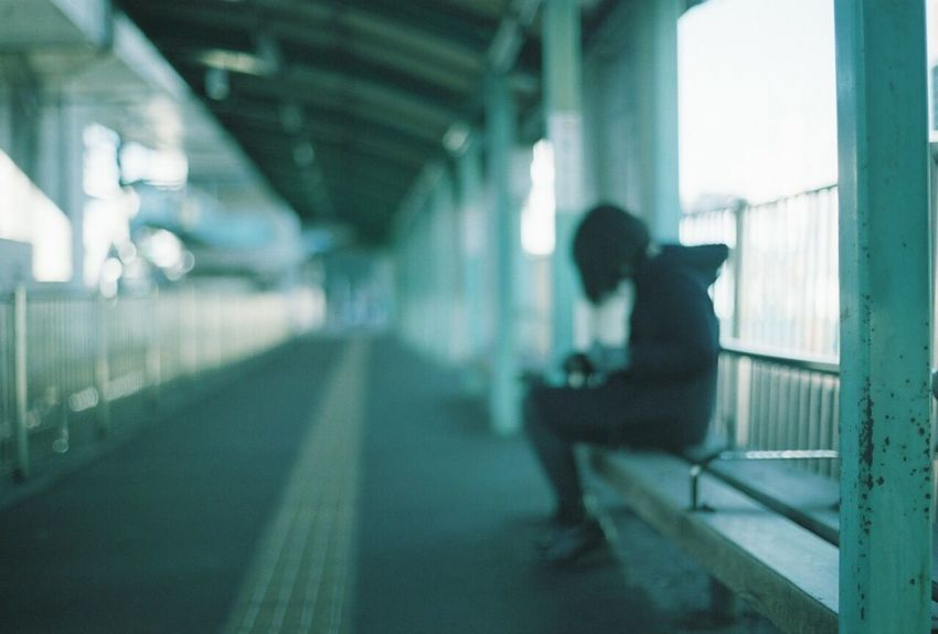 Depth Of Field Station Minimalism Japan Girl Tokyo Film Pmg_tok