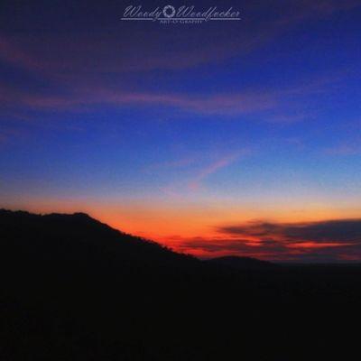 As calm as sunset. Visitkalsel Pelaihari Iamacreativ Thecreativmovement Sunset Mount Sky Dark Travel Adventure Landscape Canon