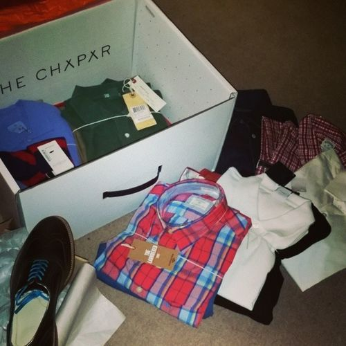 Load of great stuff from the stylist to try on! Thechapar