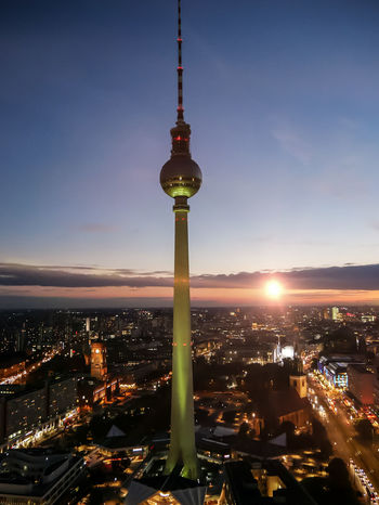 Architecture City Night Cityscape Tower Travel Destinations Sunset Urban Skyline High Angle View Travel Outdoors Passion Photographer Berlin Moodygrams Transfer_visions Best Shots EyeEm Photography Themes Visualsoflife Berlinlovers Architecture_collection Travel Photography Shot2kill Agameoftones Architecture Cityscape