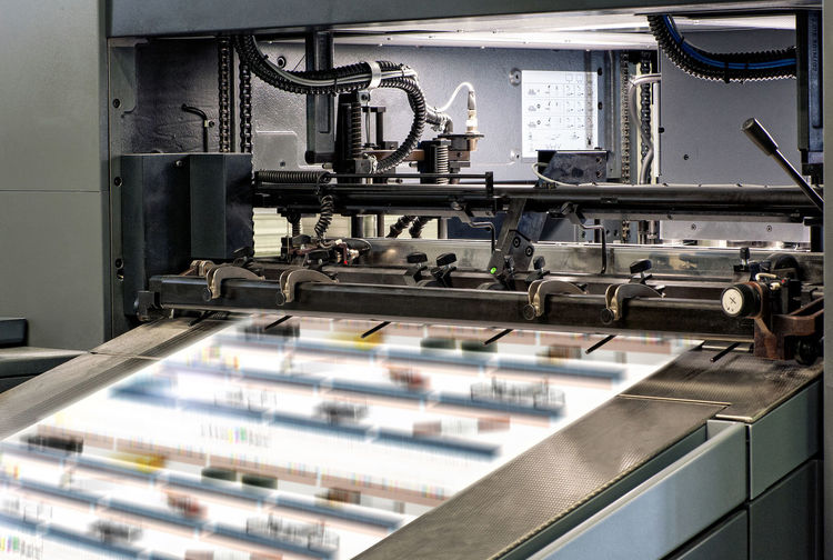 Architectural Large Printing Machines Intended for Large Prints Inside the typography Business CMYK Industry Machine Press Print Printing Production Typography Equipment Factory Indoors  Industry Manufacturing Manufacturing Equipment Printer Fresh On Market 2018