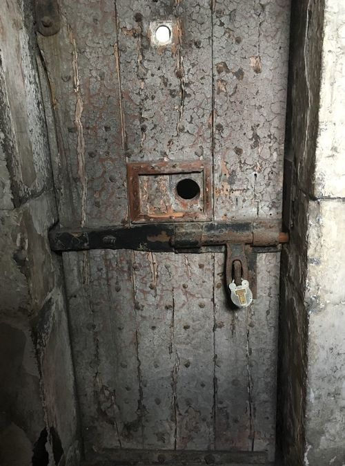 Door Prison Prison Cell Cell Jail 1916