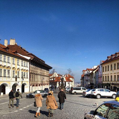 Finally a sunny day in Prague Whereschesa