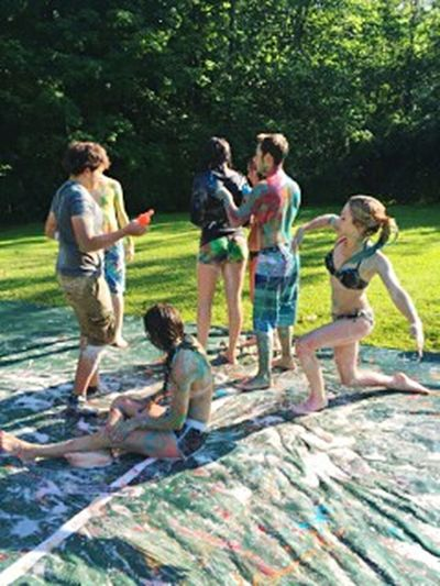 Paint War Slipnslide Faces of Summer