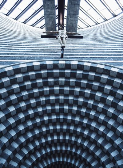 Architecture And Art Architectural Detail Architecture Mario Botta Religion Architecture Religion Symmetry Geometric Shape Modern Architecture Jesus Christianity Church Architecture Church Low Section Human Leg Body Part Human Body Part Architecture Pattern Built Structure