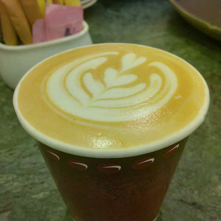 Coffee And Sweets latte Art