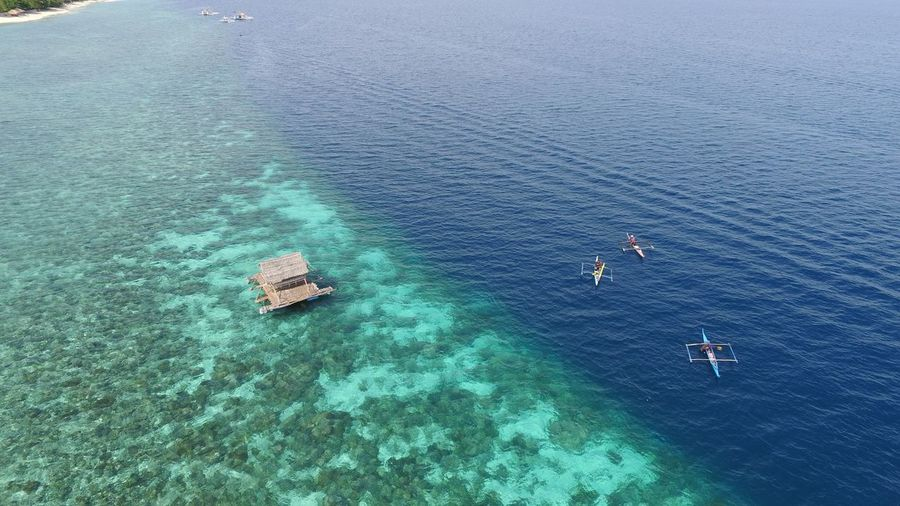 Philippines ASIA Drone  Travel Water High Angle View Beauty In Nature Transportation Nautical Vessel Turquoise Colored Nature Aerial View Outdoors Beach Sailboat Blue