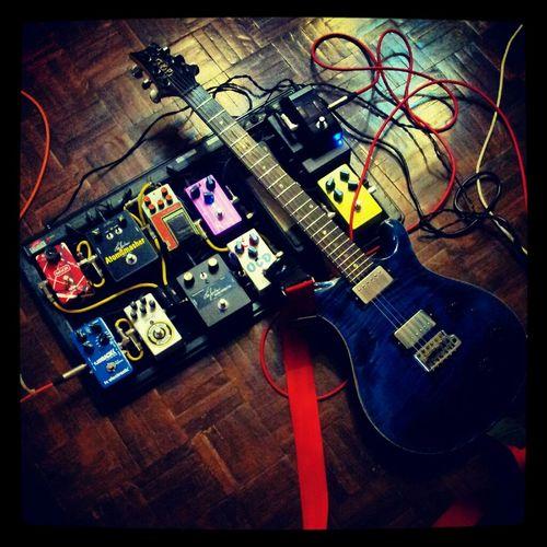 @xgit PRS guitar & pedalboard    OMNI    Rehearsal Rock Heavymetal Guitarist Psycho Rock
