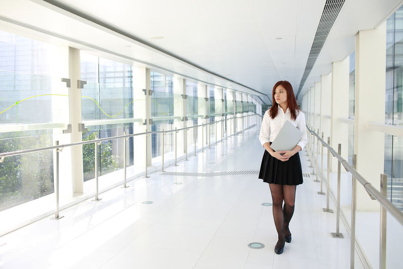 File Futuristic Office Portrait Of A Woman Women Who Inspire You Worker Working Business Finance And Industry Career Girl Girls Job Model Occupation Portrait Pose Technology Thinking About Life Walking White Woman Portrait Young Women