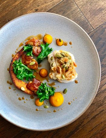 Monkfish, chicken oyster and squash Wellbeing Still Life Ready-to-eat #urbanana: The Urban Playground