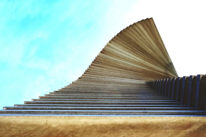 Architecture Architectural Feature Urban Geometry Minimalism City Modern Sky Architecture Travel Steps And Staircases Spiral Staircase Steps Spiral Stairs Directly Below