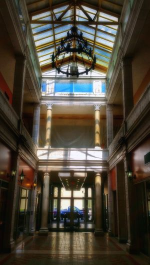 The Arcade Mall Entryway (tall, in color) – Columbia's first shopping center, built in 1912 – is about to get a face-lift... read more here: http://www.thestate.com/news/business/article56317810.html -- Telling Stories Differently HDR Hdr_Collection Architecture Indoor Architecture Building Interior Ceiling Ceilingporn Geometry Urban Geometry Chandelier Pattern Shapes Building Architectural Column Columns Architecture_collection Light And Shadow Shadows Light Mall Ceiling Design EyeEm Best Shots - Architecture Interior Design The Architect - 2016 EyeEm Awards