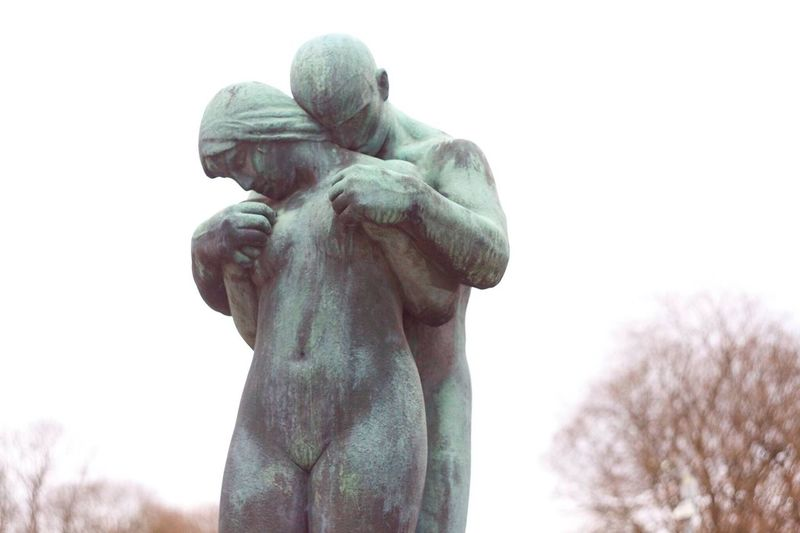 Gustav Vigeland Statue Sculpture The Vigeland Park Outdoors Norway EyeEmNewHere