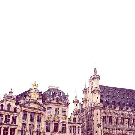 Brussels Belgium Arquitecture Building Old Old Buildings Beautiful