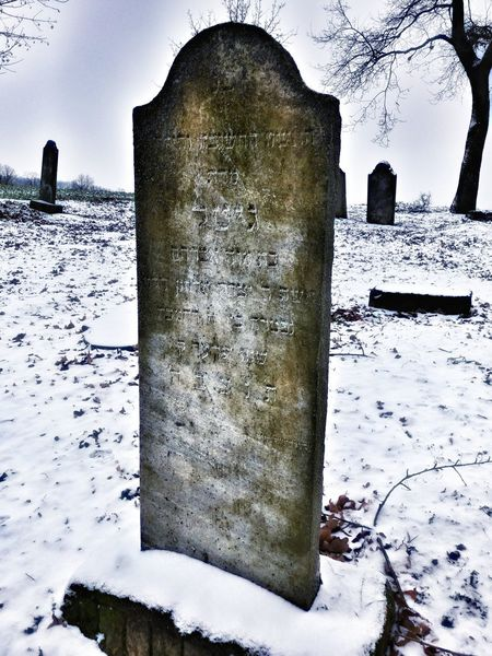 Cementery Jewish Cemetery Jewish Culture Old Jewish Cemetery Jewish✡🕇☗ Winter Zidovsky Cintorin No People Outdoors Day Sky