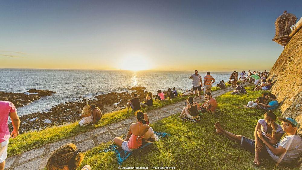 Sunset - Farol da Barra - Salvador - Bahia - Brasil Sunset Sunset_Collections Sunrise_sunsets_aroundworld Faroldabarra