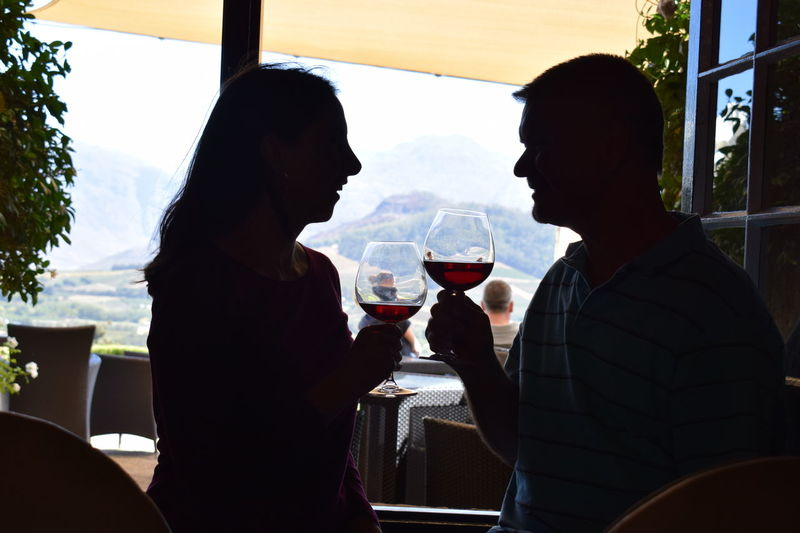 A beautiful love! Caught In The Moment Cheers To Life Embrace The Moment Francschhoek Wine Haute Cabriere Live Life To The Fullest Love Memories South Africa