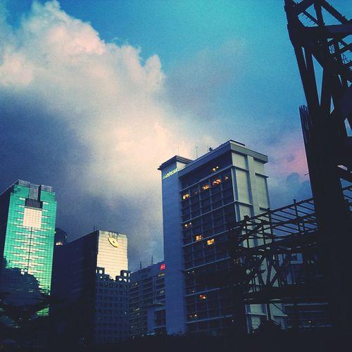 purple haze Cityscapes Jakartaselamanya