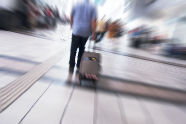 Blurred Motion Motion Transportation Architecture Real People Walking Speed Travel Mode Of Transportation Lifestyles People Adult City Railroad Station on the move Indoors  Men Women Incidental People Day Flooring Moving Walkway  Station Arrival