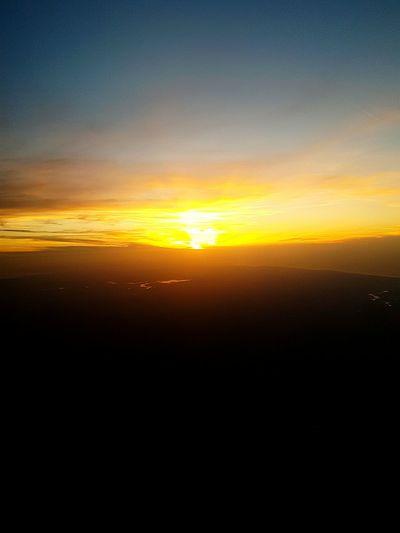 Sunset Silhouette Horizon Backgrounds Sunlight Astronomy Sky Landscape