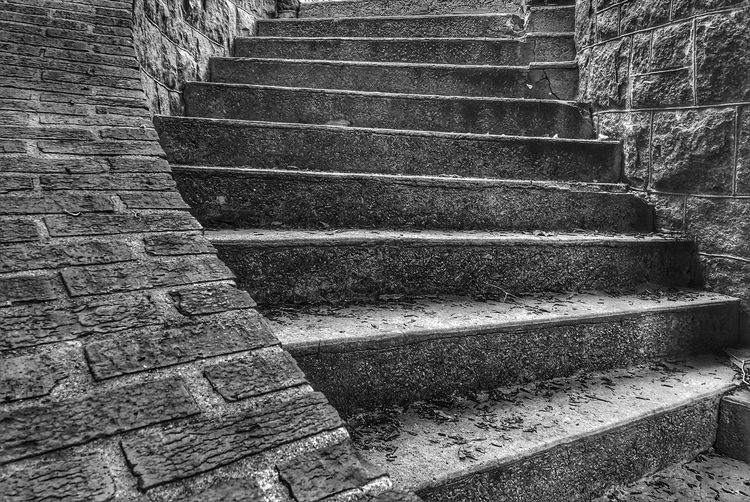Staircase No People Day Sunlight Pattern Nature Architecture Backgrounds Old High Angle View Close-up Built Structure Steps And Staircases Outdoors Textured  Shadow Repetition