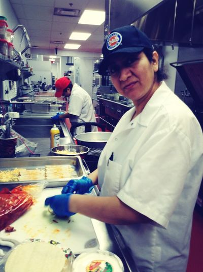 Mi Wonderful Mother Cooking For Workers & The Boss!