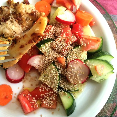 Salad Combo Healthy Food Healty Not Too Healthy Bon Appétit! Lunch Time! Salads Foodphotography Eating Healthy