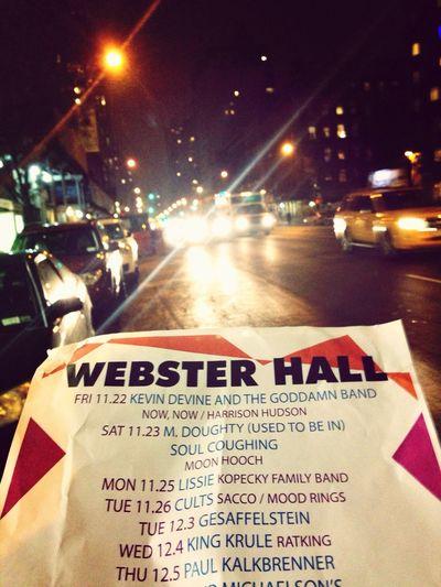 Concert Paul Kalkbrenner Newyork Night